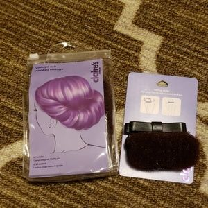 Brown hair styling rolls - 2 pieces